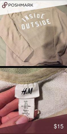 Comfy sweatshirt H&M comfy sweatshirt H&M Tops Sweatshirts & Hoodies