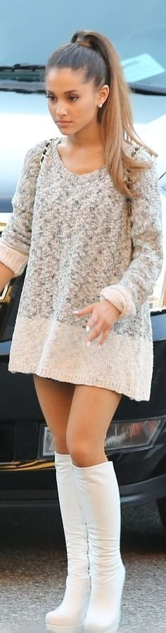 Sweater and Boots