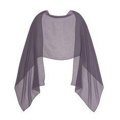 The perfect chiffon shawl to pair with your bridesmaid dresses! #DonnaMorgan #bridesmaids #shawls