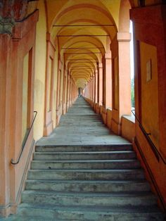 San Luca Church, Bologna. Take the expres from the town centre.