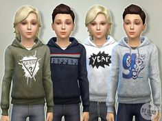 Sims 4 CC's - The Best: Clothing for Kids by Lillka