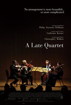 A Late Quartet is a skillfully constructed, beautifully performed drama. This film will satisfy the ones looking for smart, intelligent filmmaking.