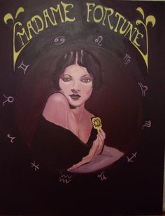 Burgundy Gypsy Fortune Teller Original Painting by TheElusiveBeast Gypsy Fortune Teller, Clown Horror, Native American Wisdom, Under Your Spell, Circus Poster, Beauty Magic, Scary Costumes, Evil Clowns, Fortune Telling