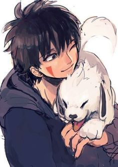 #Kiba and #Akamaru