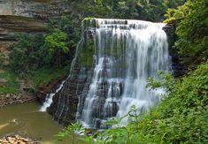 Big Falls (lower falls) - Burgess Falls State Park, Sparta, Tennessee
