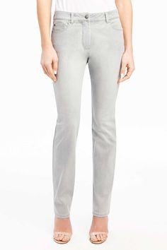 Foxcroft Straight-Leg Jean