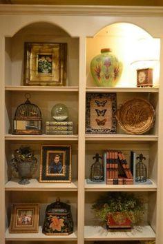 shelf decor | Decorating Shelves