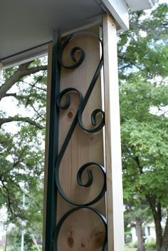 Working on Curb Appeal: The Front Porch via Urban Acreage