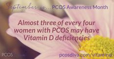 Research says that most women with PCOS have low levels of vitamin D. What should your levels be? Read on! Vitamin D Function, Pcos Vitamins, Pcos Awareness Month, Pcos Fertility, Watermelon Nutrition Facts, Genetic Variation, Pcos Symptoms, Vitamin D Deficiency, Polycystic Ovary Syndrome
