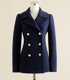 Need this to replace my recently donated pea coat...it was too small : (