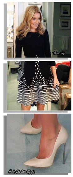 Kelly Fashion, Live Fashion, Fashion Beauty, Dress Skirt, Peplum Dress, Dress Up, Modest Fashion, Fashion Outfits, Kelly Ripa