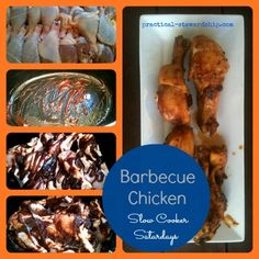 Crock-pot BBQ Chicken