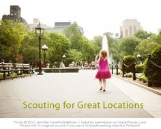 Tips & tricks for scouting awesome locations for your photography session! {via iHeartFaces.com}