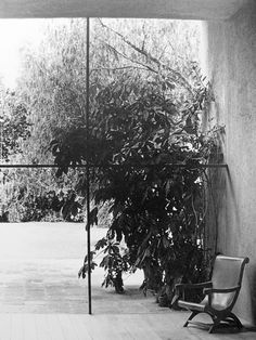 Luis Barragan's workshop c. 1948.