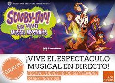 ¿Aún no tienes tus entradas para el Musical de Scooby Doo? ¡No esperes más!