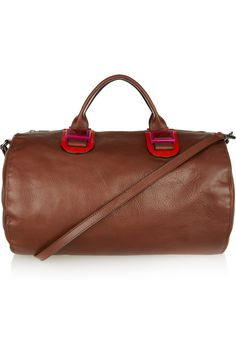 Leather duffel bag by Meredith Wendell $795 at Net-A-Porter