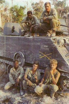 M113 crew of the 11th Cav, 1971.