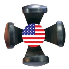 Golf Claw -BEST ball pick up tool on the market. Fits into any putter grip and is decorated with the USA flag :)