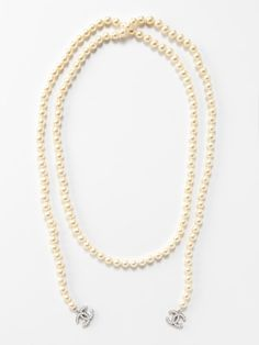 #Chanel.  wanted a pearl chanel necklace like this since i saw them on the OC back in like 2005. LOVE