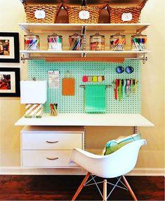 Best Home Office Shelves Above Desk 55 Ideas