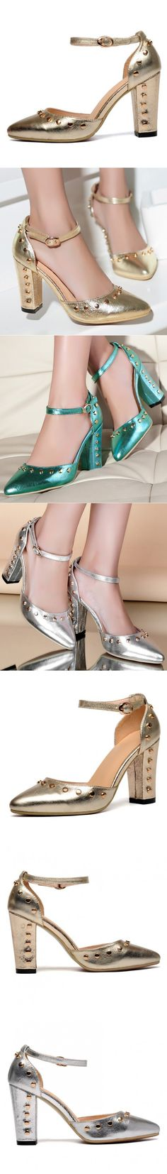 """Glowing Blue Promenade Ankle Booties Evening Shoe Tap Shoes Closed Thick High Heel """"Huge Black Colored Heels, Big Hindfoot"""" Interview Strap Heels Close Toed Cute Antique Womans Neon Ankle Booties Slip Resistant Kids Tap Shoes Spikes Crystal Heels Bling Matte Platforms Bohemian Grace."""
