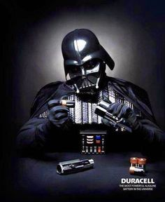 Lightsaber de Darth Vader | Duracell #MarketingdeGuerrilla