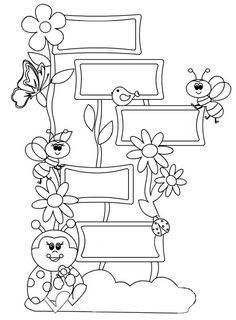 Az elmúlt években többször volt a tanulóim magatartásával probléma, ezért kitaláltunk saját szabályrendszert, aminek a betartása, vagy be n... I School, School Classroom, Primary School, Classroom Decor, Middle School, Doodle Coloring, Colouring Pages, School Bulletin Boards, Borders For Paper