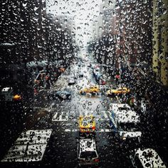 Fall rain in NYC, its the best bad weather you can ask for.