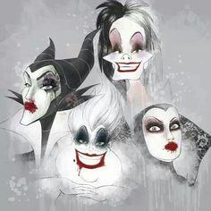 Disney villains #ladies #punky