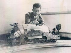 t-s-k-b:  1936 - Robot Remote Controlled Train - Jiro Aizawa...