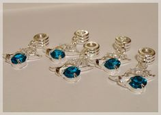 '(5) Piece Set - Pugster Fish Euro Charms ' is going up for auction at  5pm Sat, Jan 12 with a starting bid of $5.
