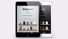 Freebie: iPad Mini vector PSD mockup