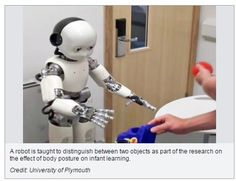 Robot Model Shows Bodily Posture May Affect Memory & Learning - pinned by @PediaStaff – Please Visit ht.ly/63sNtfor all our pediatric therapy pins