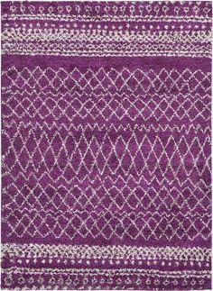 Violet Luxe Frieze Rug |(eSaleRugs)