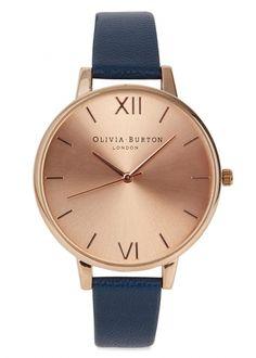 Big Dial rose gold plated watch - Jewellery - For Her - Christmas Női Órák 2397048314