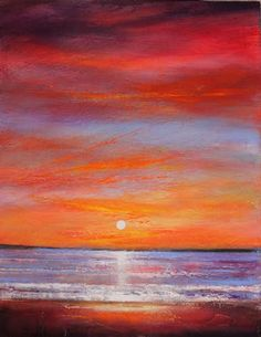Toni Grote Spiritual Art From My Heart to Yours : Jan 8 Sunrise ...