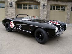 1957 Chevrolet Corvette Airbox Fuel Injected COPO Race Car. The Ex-Bob Mouat Factory Big Brake, Air-Box Fuelie. Reportedly most extensively raced '57 Corvette race car; successfully raced straight from showroom, achieving 21 victories and over 50 top-10 finishes.