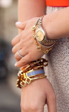 delicate bracelet arm-party