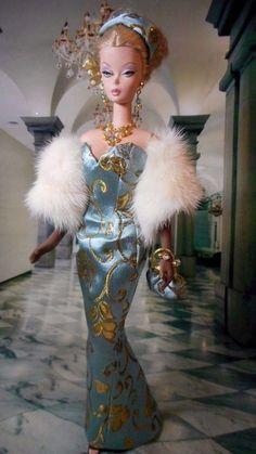 Vintage Repro Barbie Silkstone FR Poppy Parker Fashion Handmade Dress OOAK /Mary | Dolls & Bears, Dolls, Barbie Contemporary (1973-Now) | eBay!