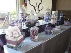 Purple and Silver Wedding Candy Bar Diamond Bar | Yelp