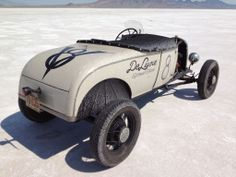 Featured Registration: Bryan McCann's 1928 Ford roadster of Colorado's Deluxe Speed Shop.