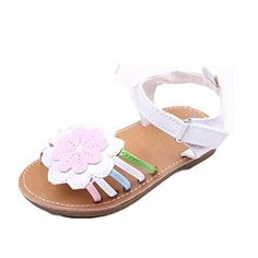Oferta: 7.58€. Comprar Ofertas de Tefamore Sandalias Zapatos para bebés Niño Princesa Primero Walkers Niñas Niños (12, Blanco 2) barato. ¡Mira las ofertas!