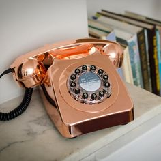 Hello shiny! The new #746phone in copper. #wildandwolf