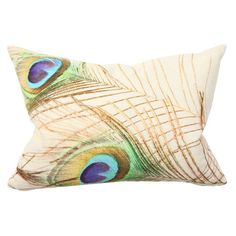 Peacock Pillow.