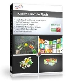Xilisoft Photo to Flash is the best flash slideshow maker which can create dynamic flash slideshows from a dozen of photos in formats of jpg, jpeg, png, gif, bmp, tiff, xbm, xpm to SWF, XML and HTML output formats.To create personalized flash, you are enabled to add background music, make a choice from many given flash templates, adjust the orientation and display sequence of the imported photos and etc.