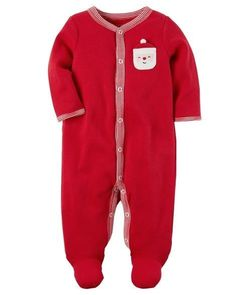 details about christmas sleep play outfit footie sleeper footed kids childrens baby boys girls