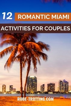 Discover all the romantic and fun things to do for couples in Miami. This post has 12 perfect activities for a romantic Miami getaway. Make sure your Miami itinerary features some romance and click here for inspiration. Romantic Miami | Couples Travel | Romantic Getaways USA | Things to do in Miami | Miami for couples | Couples Miami | Couples Trip Miami | Miami Honeymoon | Miami Beaches | Miami Tours | Fun Couples Activities in Miami | Romantic Miami | Miami Attractions | What to do in… Romantic Escapes, Romantic Getaways, Romantic Travel, Romantic Things To Do, Fun Things, Canada Travel, Travel Usa, Miami Attractions, Fun Couple Activities