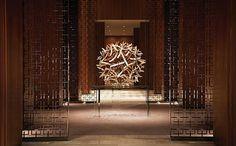 Interior Design Magazine: The lobby of the new Four Seasons Hotel Toronto  by Yabu Pushelberg