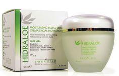 Hidraloe Crema Facial Hidratante: Hidratación y nutrición facial. Ideal para el cuidado de las pieles secas y sensibles. Tratamiento complementario en la prevención y reducción de las arrugas y la flacidez.
