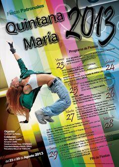 23-29 de Agosto. Fiestas patronales. Quintana Maria. Las Merindades